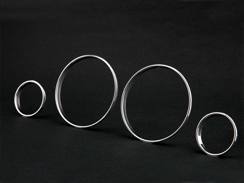 Chrome Cluster Dashboard Dial Gauge Rings For BMW E39 M5 E38 E53 X5
