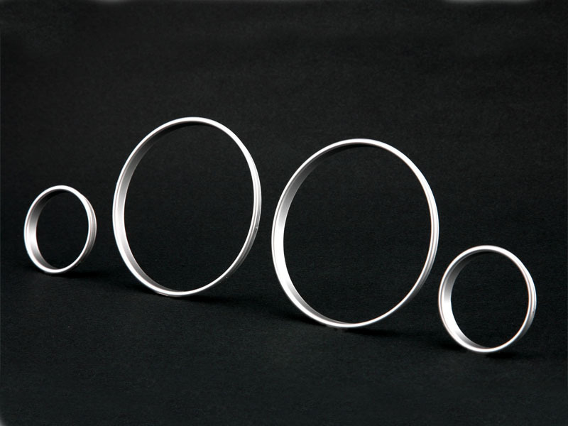 Silver Cluster Dashboard Dial Gauge Rings For BMW E39 M5 E38 E53 X5