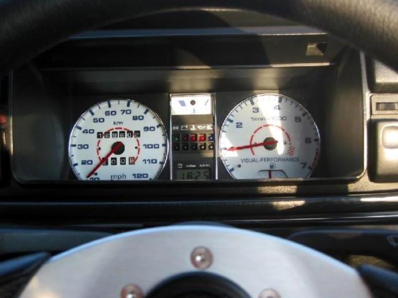 VOLKSWAGEN 1985-1992 VW GOLF 2 JETTA CLUSTER CHROME DASHBOARD GAUGE RINGS
