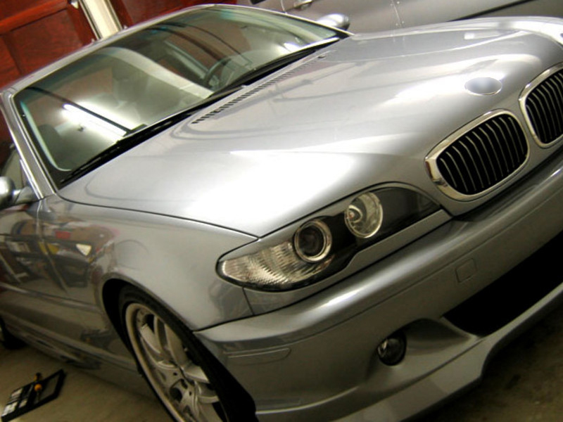 BMW E46 04-06 COUPE BROWS LIDS EYELIDS EYEBROWS