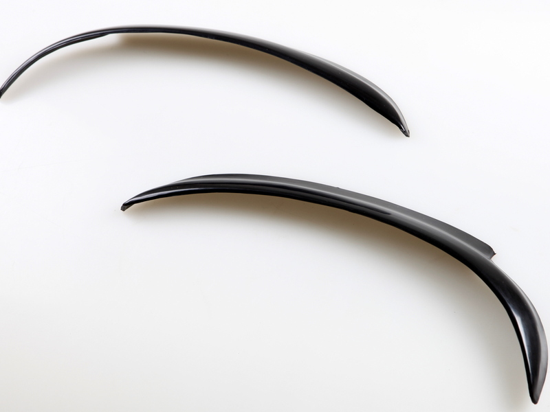 Vauxhall corsa B eyebrows eyelids spoilers SRI SXI