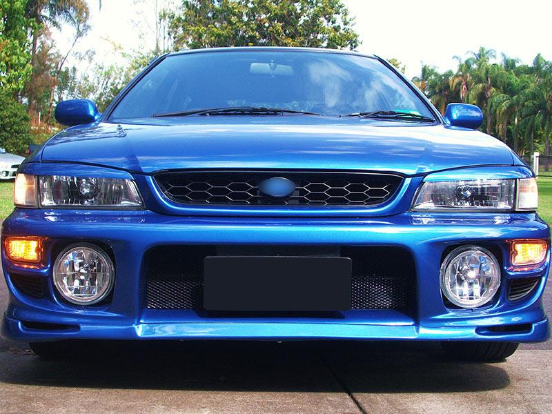 Eyelids Eyebrows Subaru Impreza WRX GC8