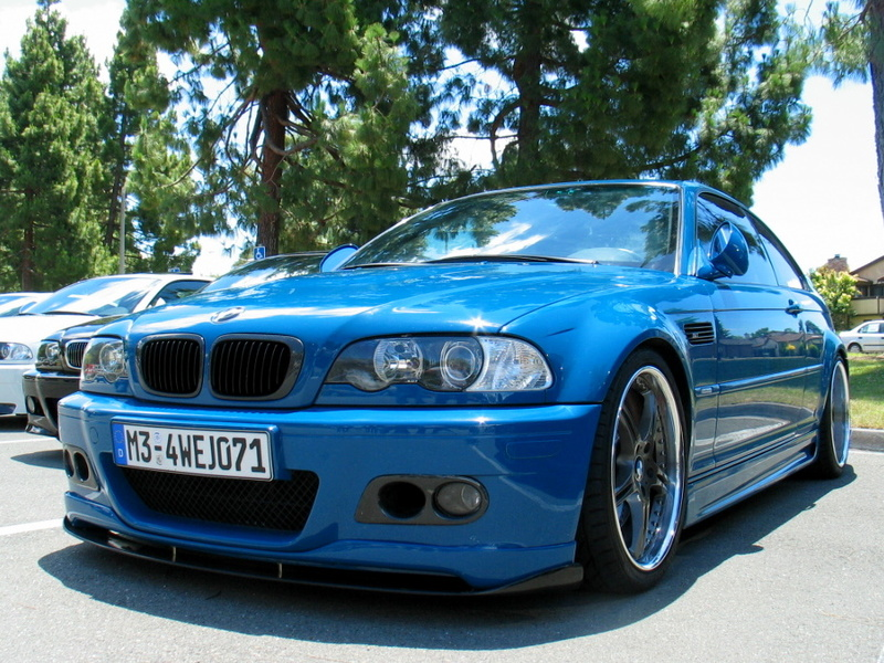 BMW E46 M3 Real Carbon Fog Light Cover Surrounds Air Duct