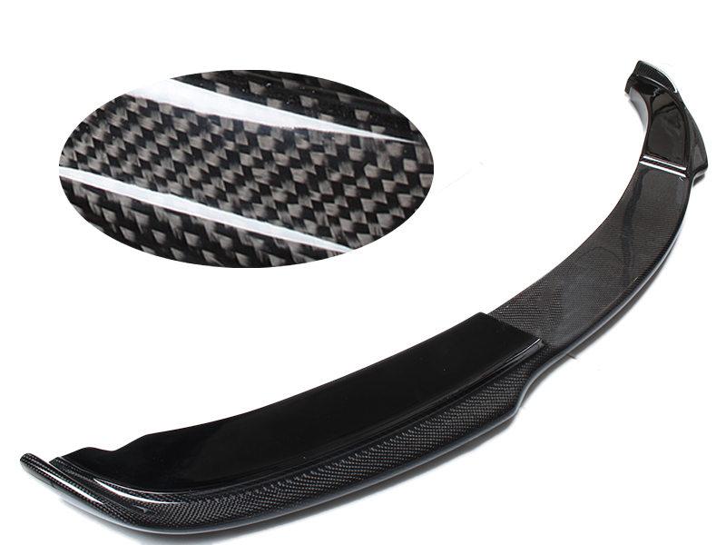 Carbon Fiber H Style Front Bumper Lip Spoiler BMW E90 Sedan