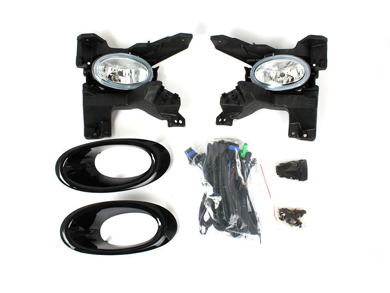 Clear Fog Light with Cover Wiring Switch For Honda City GM2 Pre-facelift 2008-2011