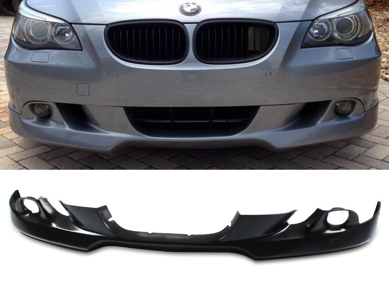 UNPAINTED PU Urethane BMW E60 5 Series 04-07 AC-S Style Front Lip Spoiler