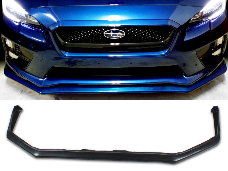 UNPAINTED PU Urethane Subaru WRX STI 15-16 JDM OE Style Front Lip Spoiler