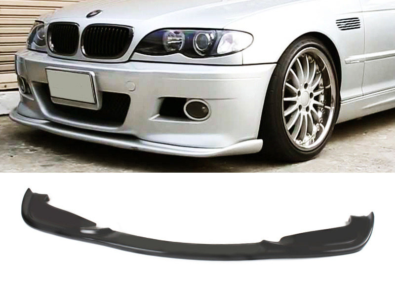 UNPAINTED PU Urethane BMW E46 M3 01-06 H Style Front Lip Spoiler