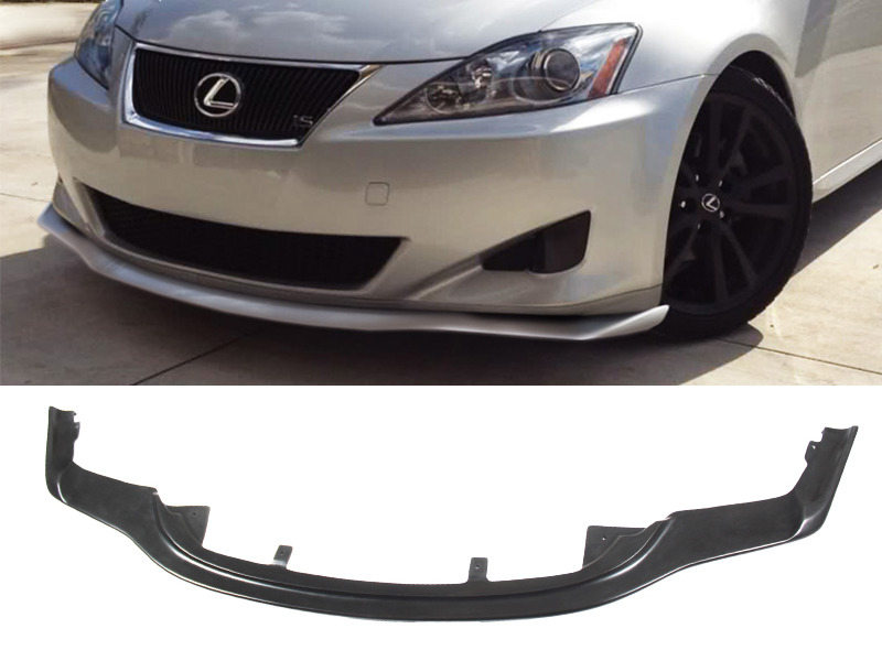 UNPAINTED PU Urethane Lexus IS250 IS350 11-13 PM Style Front Lip Spoiler