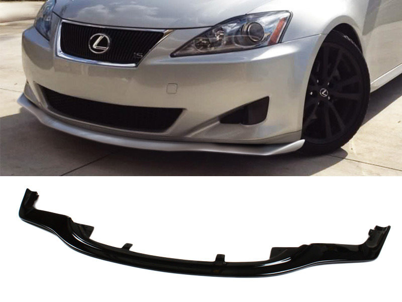 PAINTED PU Lexus IS250 IS350 11-13 PM Style Front Lip Spoiler Color 212
