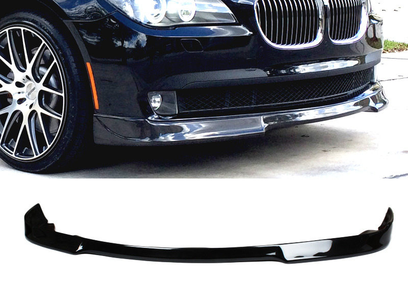 PAINTED PU Urethane BMW F01 7 Series 08-12 3D Style Front Lip Spoiler Color 475