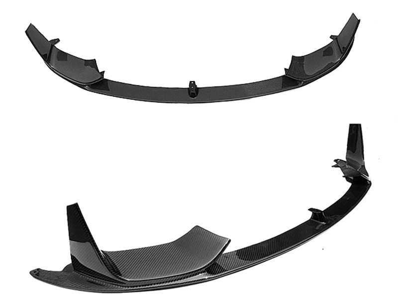 Carbon Fiber Performance Style Front Bumper Lip Spoiler For BMW F80 M3 F82 M4
