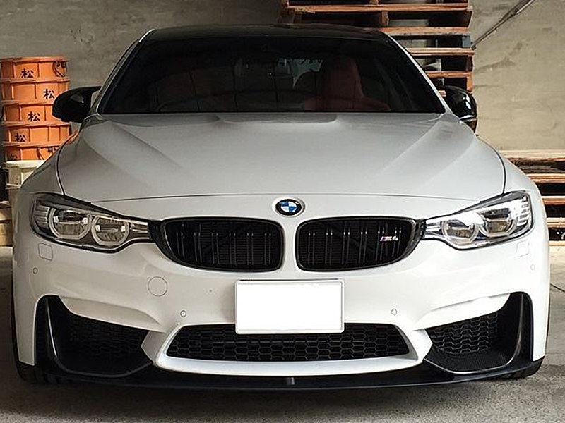 Carbon Fiber Performance Style Front Bumper Lip Spoiler For BMW F80 M3 F82 M4
