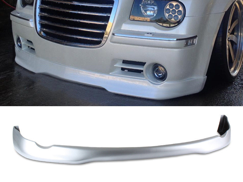 PAINTED PU Urethane Chrysler 300C 05-10 VIP Style Front Lip Spoiler Color PS2