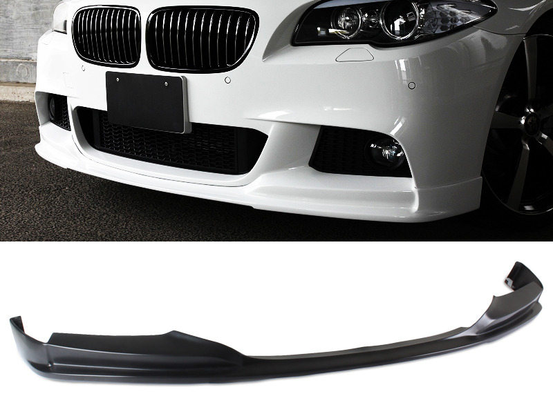UNPAINTED PU Urethane BMW F10 5 Series 12-15 3D Style Front Lip Spoiler