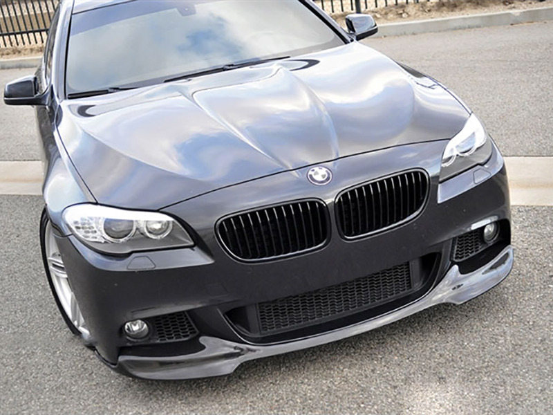 UNPAINTED PU Urethane BMW F10 5 Series 12-15 V Style Front Lip Spoiler