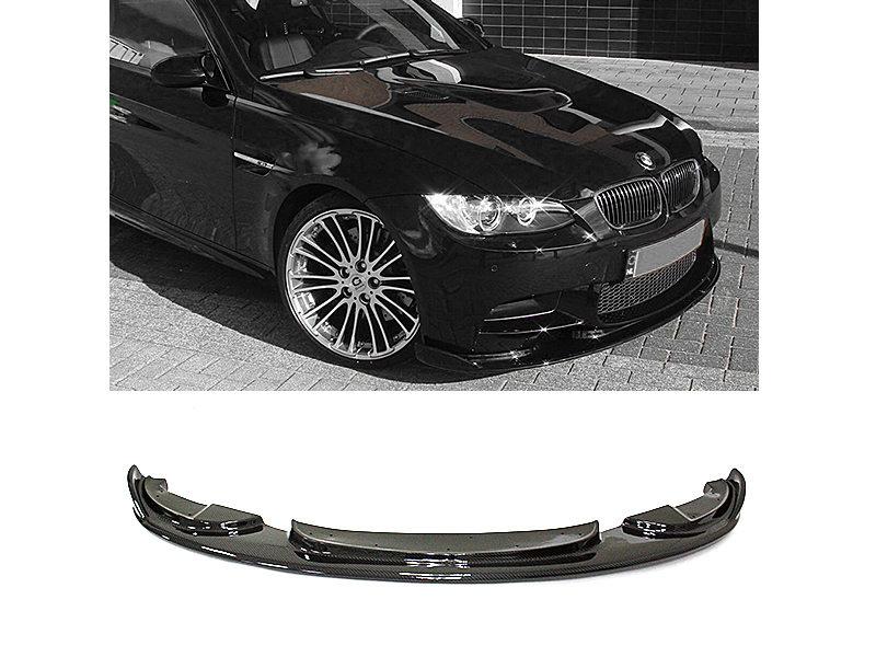 Carbon Fiber HM Style Front Bumper Lip Spoiler For BMW E90 E92 E93 M3 LCI