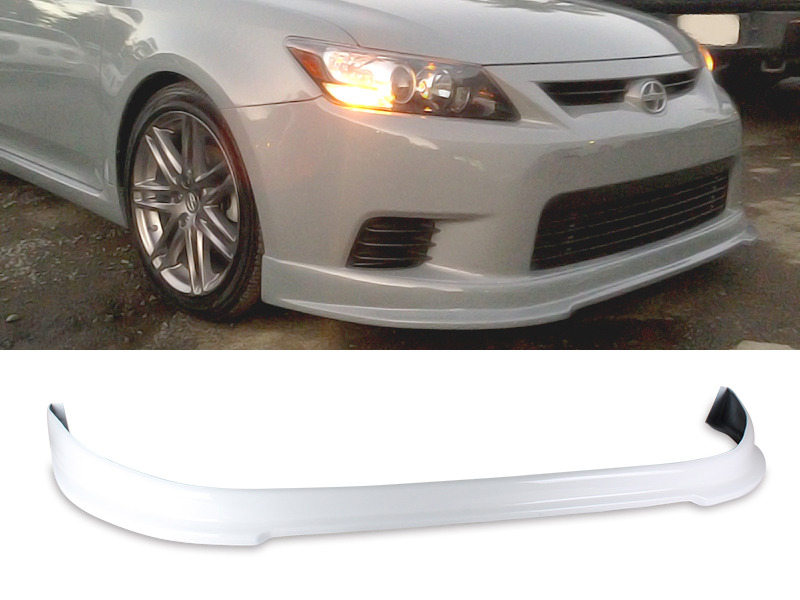 PAINTED PU Urethane Scion TC 11-13 RS Style Front Lip Spoiler Color 040