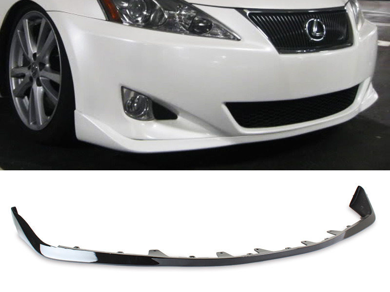 PAINTED PU Lexus IS250 IS350 06-08 OE Style Front Lip Spoiler Color 212