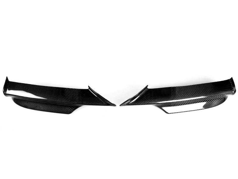 BMW 3 Series E90 Pre-facelift Carbon Fiber Front Bumper Splitter M-tech bumper
