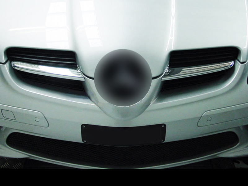 MERCEDES BENZ SLK R171 2004 ONWARDS CHROME GRILLE SLAT