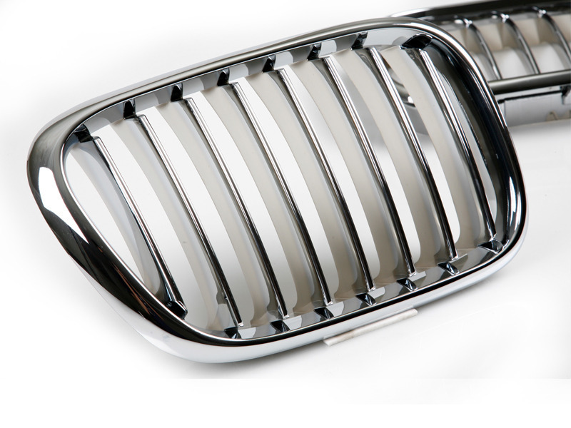 For BMW CHROME KIDNEY FRONT BUMPER GRILL GRILLE X5 E53 00-03