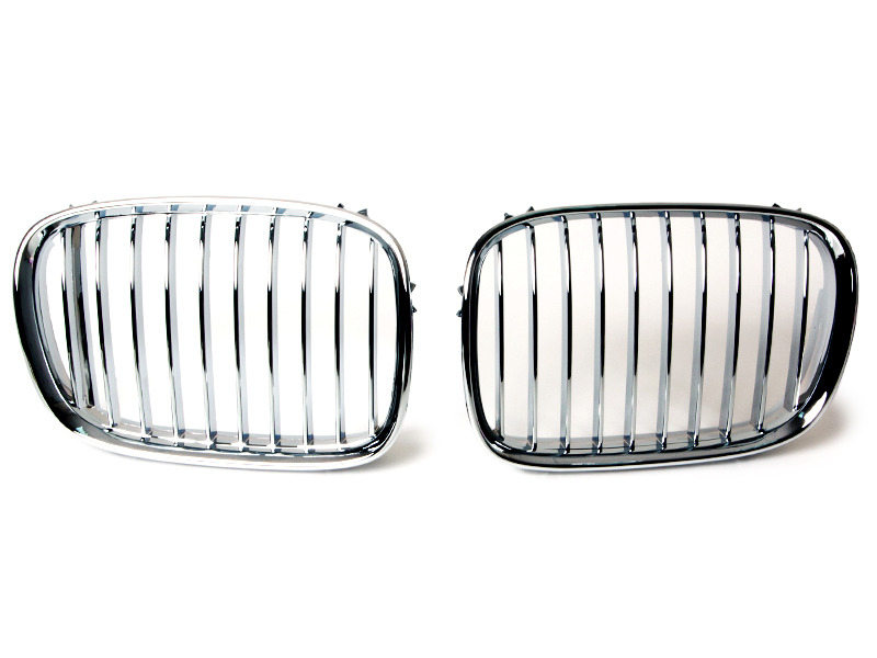 Front Bumper Chrome Grille For BMW E39  Sedan Toursing M5 95-04