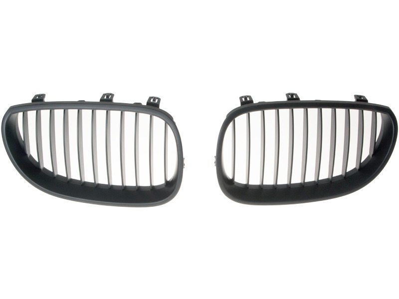 BMW E60 E61 5-Series Black Front Center Hood Grille Grill