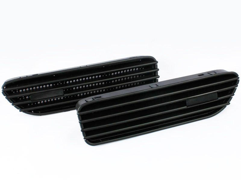 BMW E46 CSL 2D M3 BLACK Side fender Grille GRILL Vents