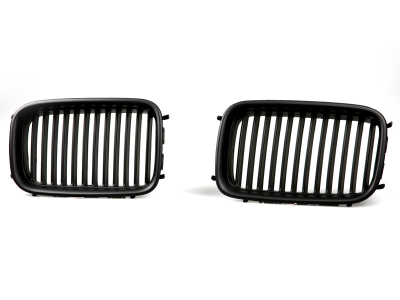 BMW E36 Front Center Grille 92-96 Kidney Style Black