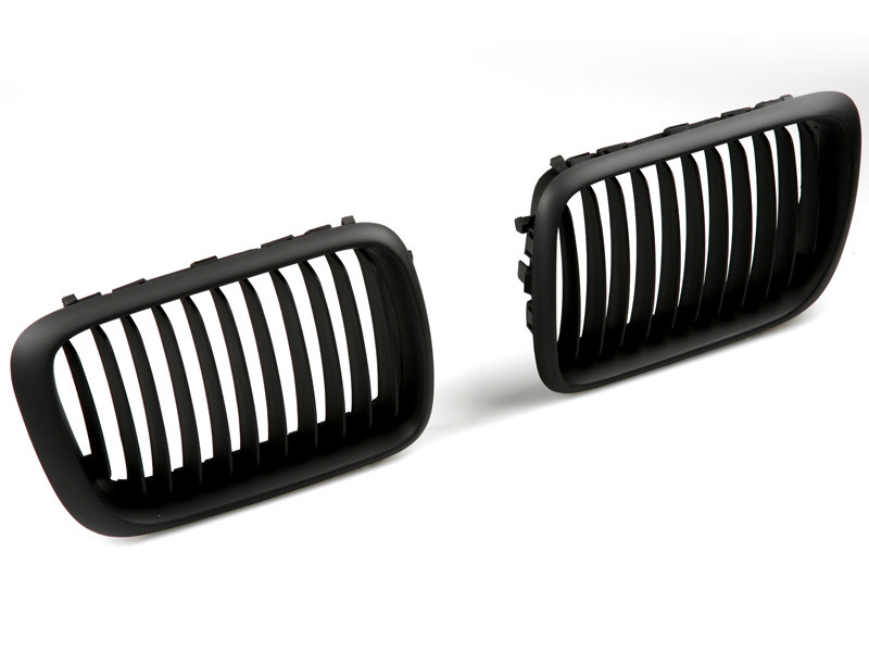 For BMW E36 Front Center Grille 97-98 Kidney Style Black