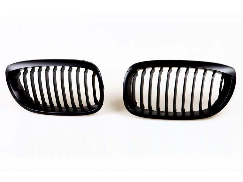 BMW E46 Front Grille 03-06 Coupe Convertible Kidney Black