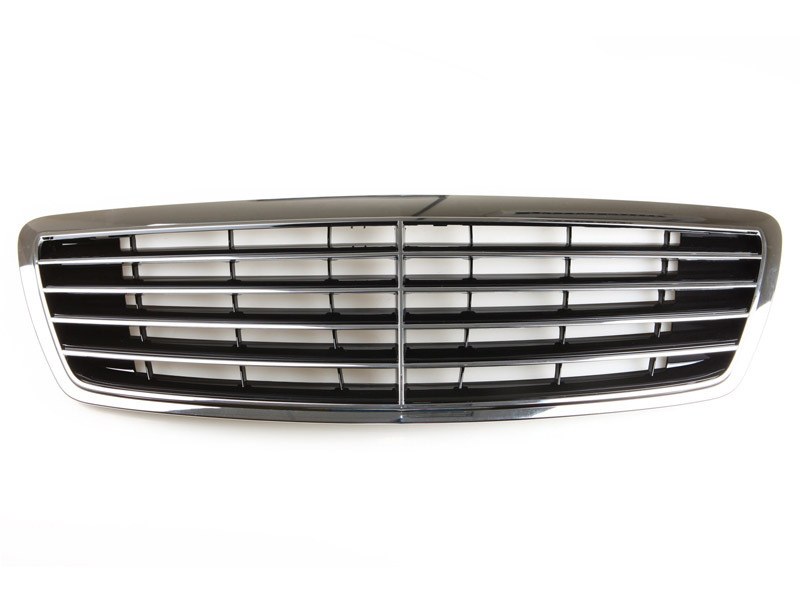 Front Chrome Grill For Mercedes Benz W220 S-Class S320 S350 S430 S500 S600