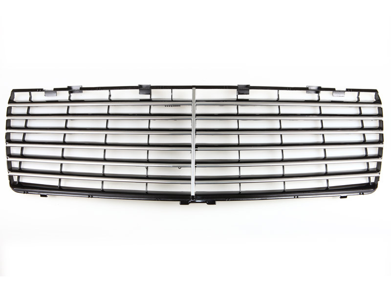 92-99 MERCEDES BENZ W140 S600 Black Chrome Trim Grille