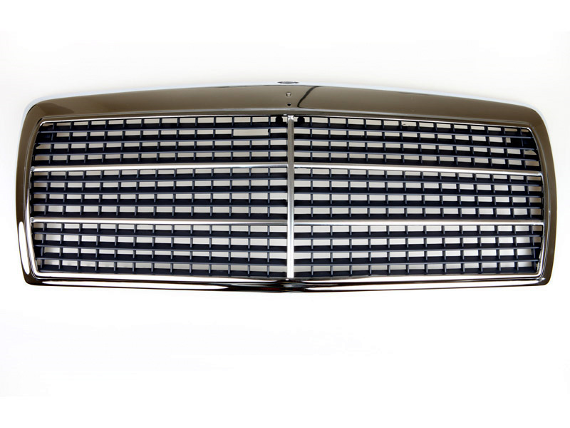 84-93 Mercedes Benz W201 EVO Look Front Chrome Grille