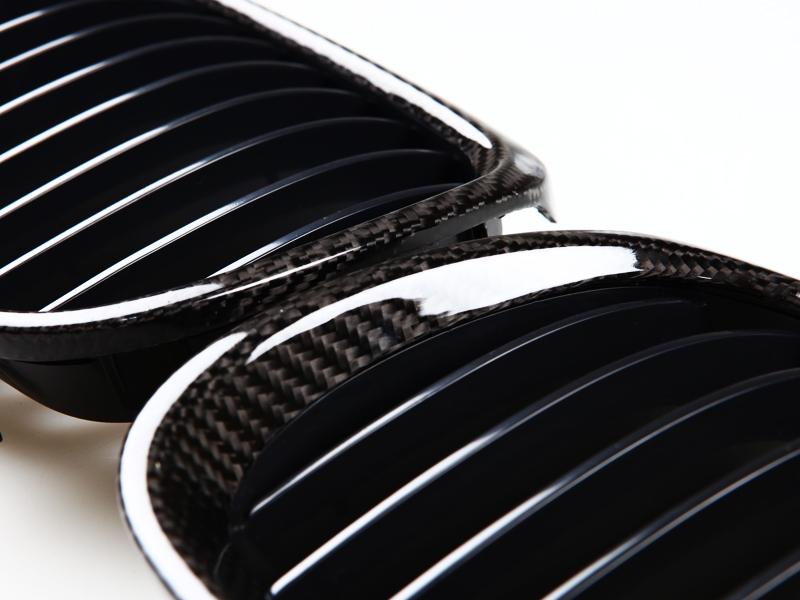 2007 -2010 BMW E92 E93 2D M3 CARBON FIBER FRONT GRILLE GRILLES GRILL
