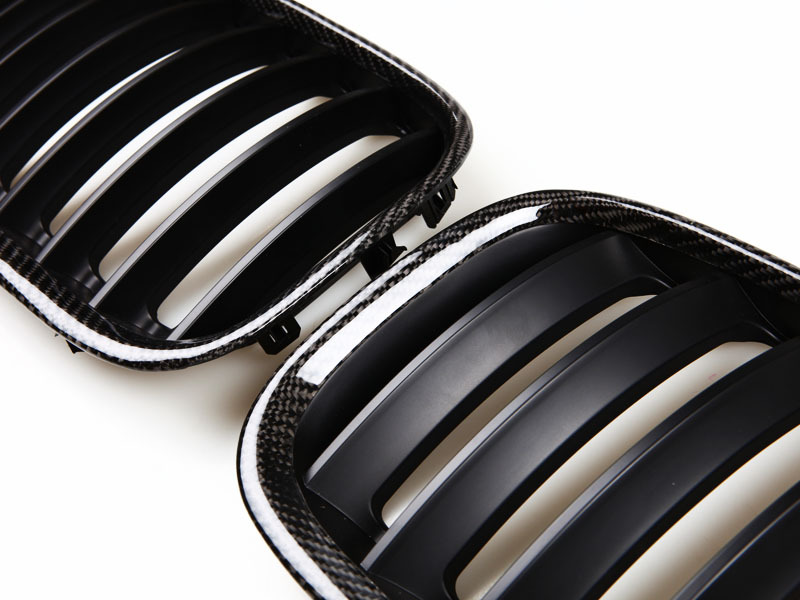 04-06 BMW X5 E53 3.0 4.4 4.6is Real Carbon Fiber GRILL GRILLE