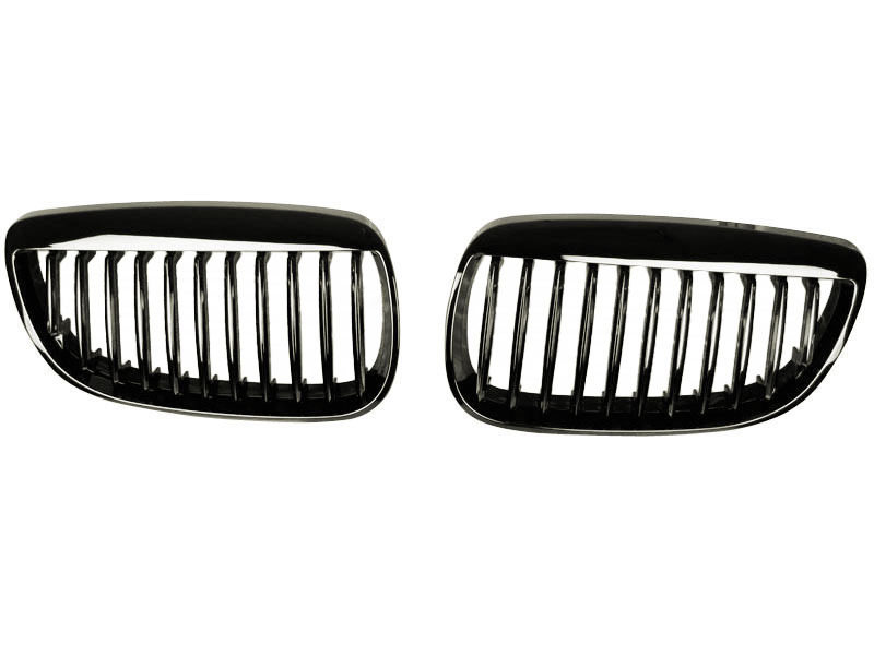 BMW E92 M3 E93 M3 3 SERIES COUPE CONVERTIBLE BLACK CHROME KIDNEY GRILLE