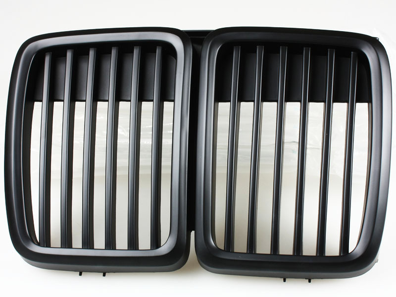 For BMW E30 83-91 3-Series Black Front Center Kidney Grille New