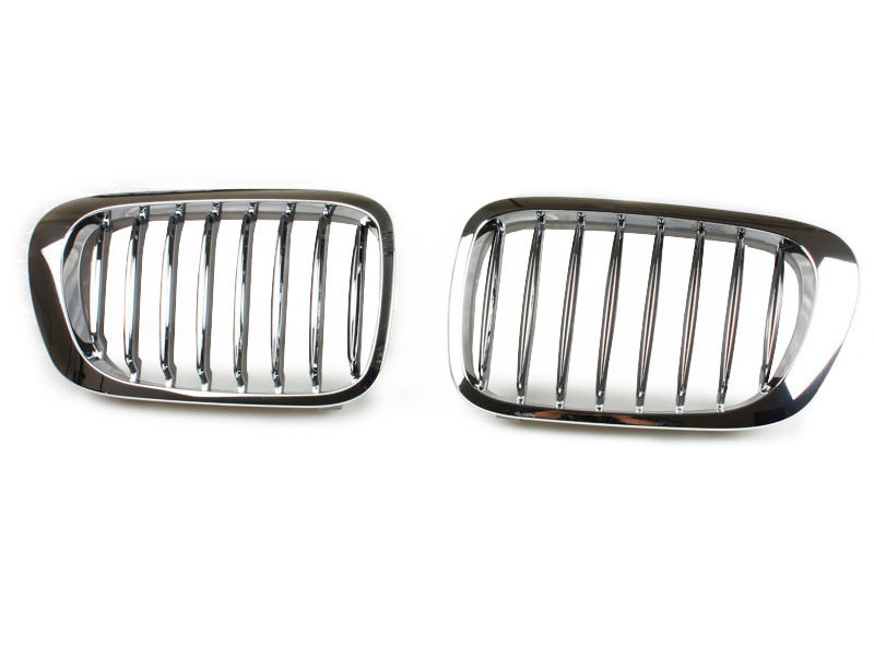 99 00 01 For BMW E46 Coupe M3 323ci/325ci/330ci CHROME GRILLE GRILL