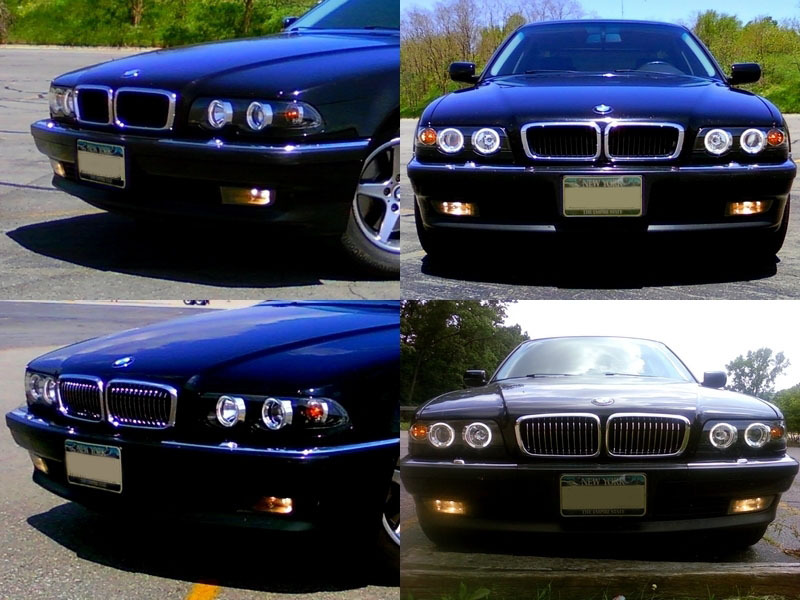 95-02 BMW E38 740 750 IL FRONT HOOD GRILL CHROME GRILLE