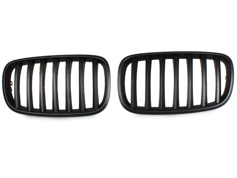 For BMW 07-11 X5 E70 X6 E71 Black Front Kidney Grill Grille