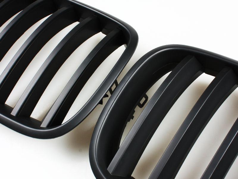 BMW 07-11 X5 E70 X6 E71 Black Front Kidney Grill Grille