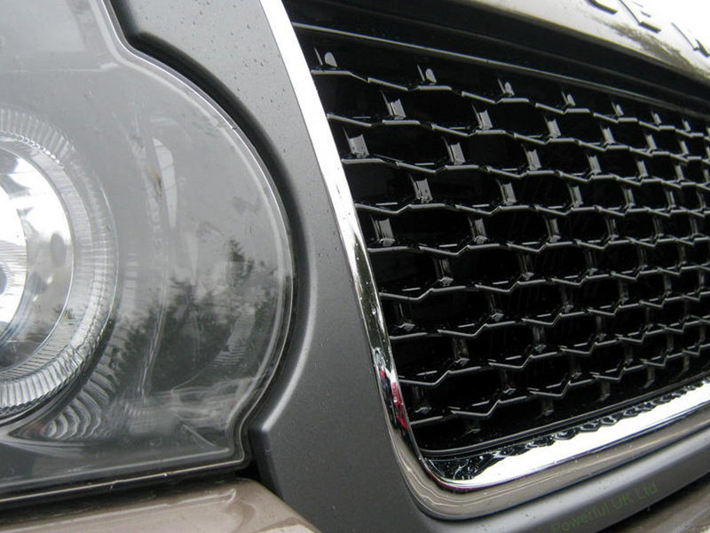 Land Rover Range Rover L322 Front Hood Mesh Grille Grey+Gloss Black+Silver