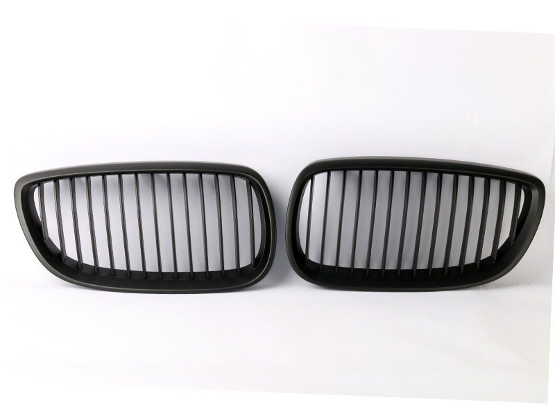 For BMW 3-Series E92 E93 M3 Pre-facelift Front Bumper Grille Black