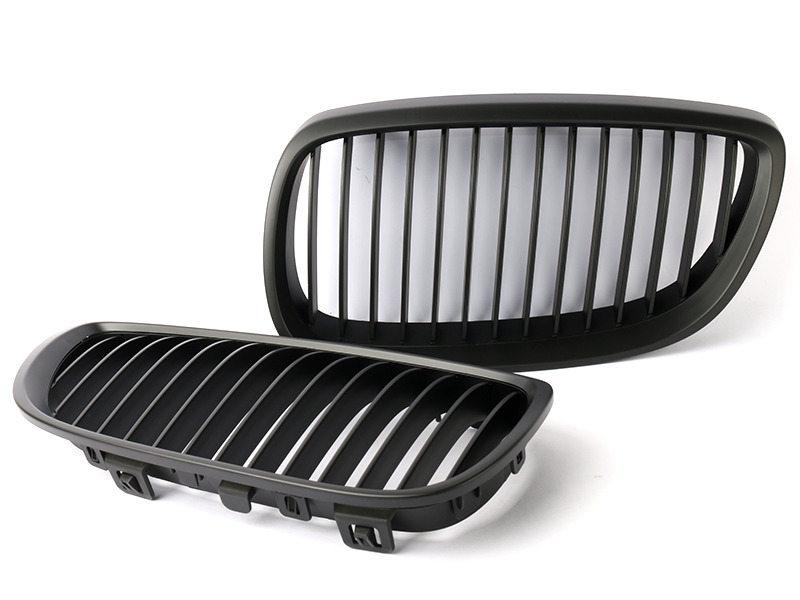 BMW 3-Series E92 E93 M3 Pre-facelift Front Bumper Grille Black