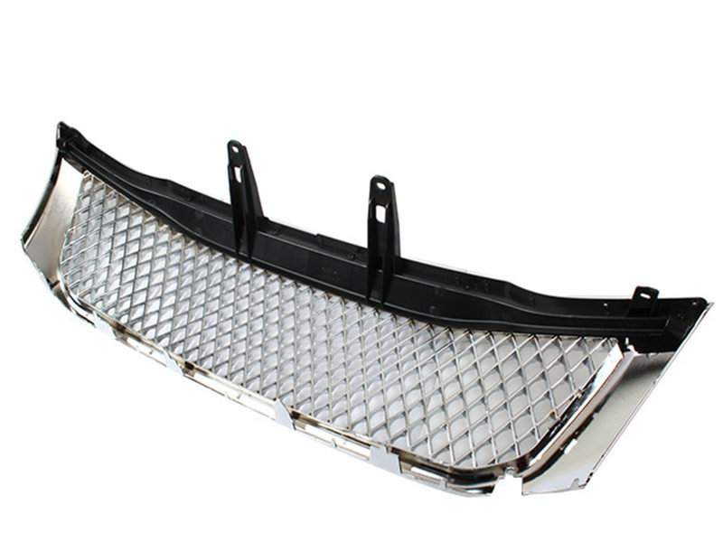 Bentley style Chrome Front Grille Grill For Toyota Hilux Vigo Mk7