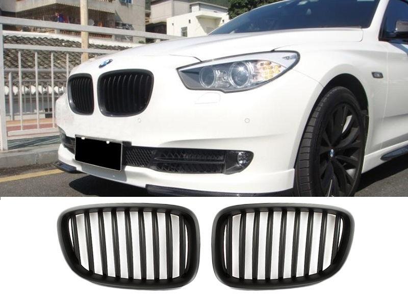 Matte Black Front Kidney Grille For BMW F07 GT Gran Turismo