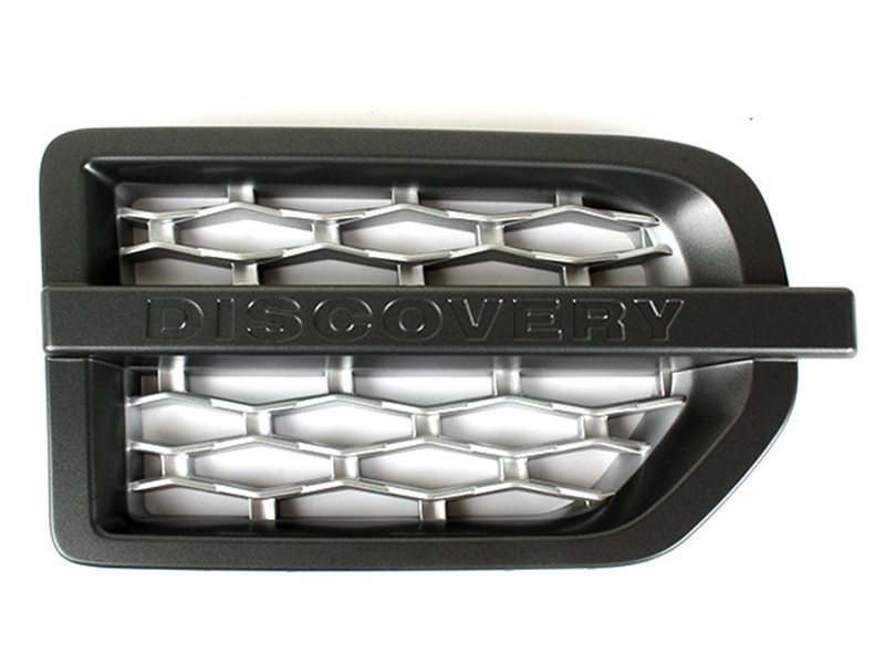 Side Fender Grille For Land Rover Discovery 3 LR3 Grey+Silver Right Side Only