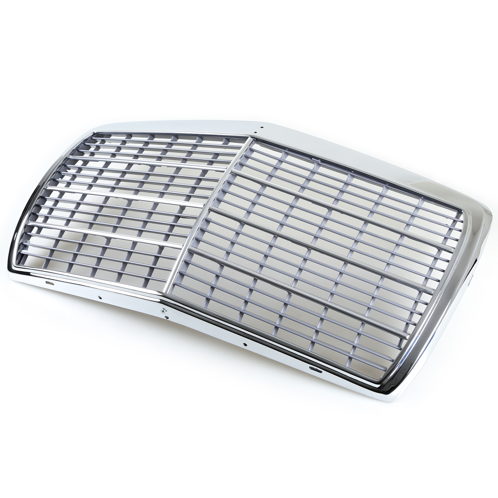 Chrome Frame + Mesh Front Grille For Mercedes W123 E-Class 230 280E 280CE 300D